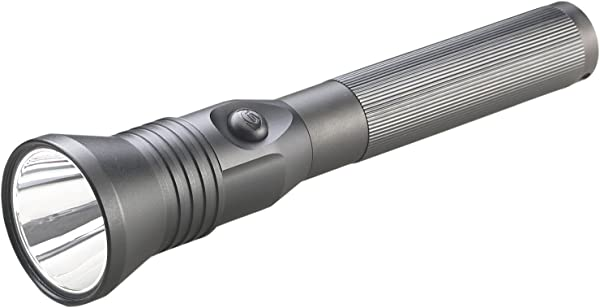Streamlight 75784 Stinger LED HPL Flashlight With 120V AC 12V DC Piggyback Charger Black 800 Lumens