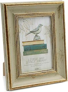 Afuly フォトフレーム L判 オールドウッド 木製 写真立て 縦型 立てかけ レトロ ヴィンテージ おしゃれ シンプル プレミアム プレゼント
