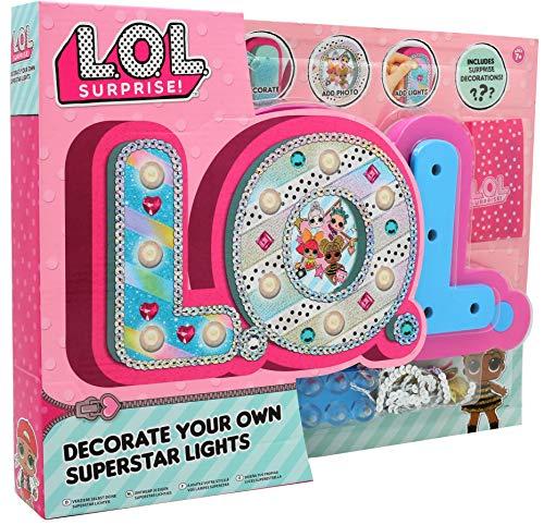 L.O.L. Surprise Luce Notte Bambini Lampadina Notturna Lol Lucina Glitterati Bambina