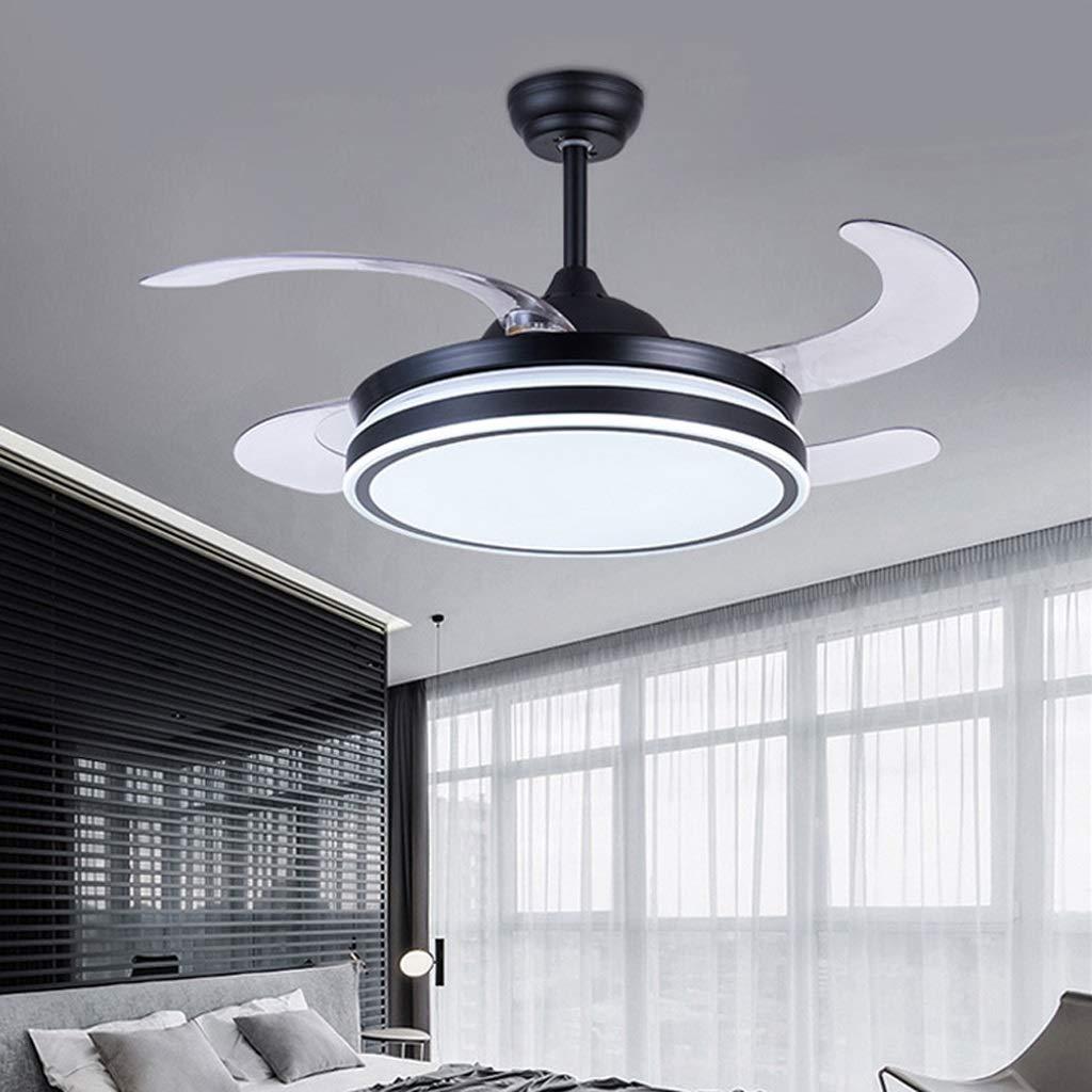 Hogar Ventilador Techo Ventilador de techo con lámpara Ventilador ...