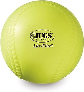 Jugs Yellow Lite Flite Practice Softballs