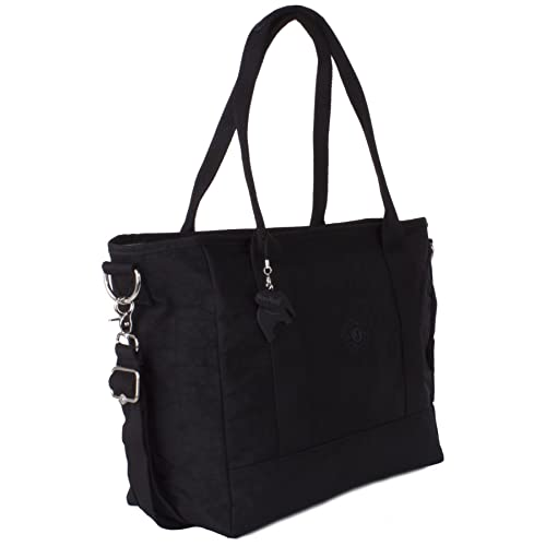 a4ea41aa9018 Big Hanbag Shop Multipocket Lightweight Rainproof Fabric Shopping Tote Top  Handle Shoulder Bag - XL Size