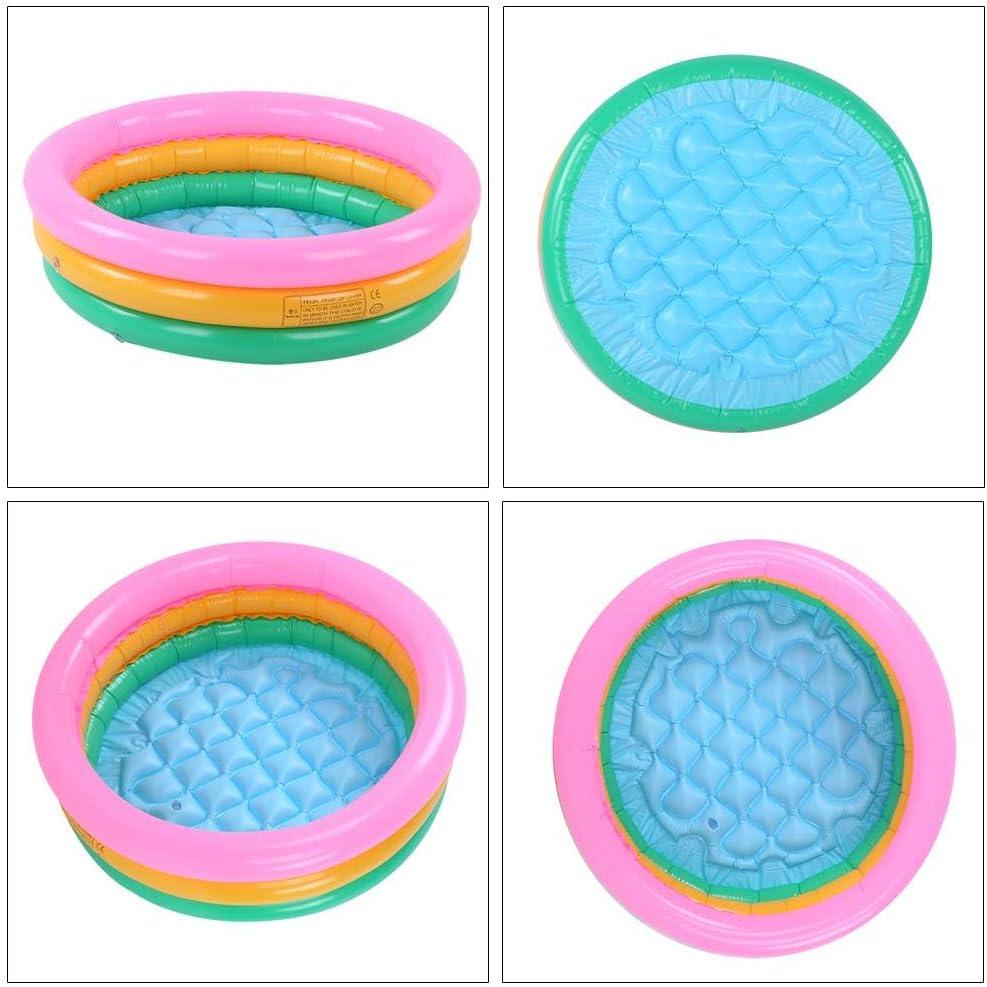 weiches Planschbecken Planschbecken Big Weiches Planschbecken aufblasbares PVC-Becken in runder Form F/ür Kinder Babys Babys und Neugeborene