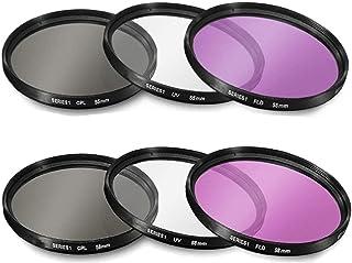 UV Multithreaded Glass Filter for Nikon D3500 62mm 1A Multicoated Haze