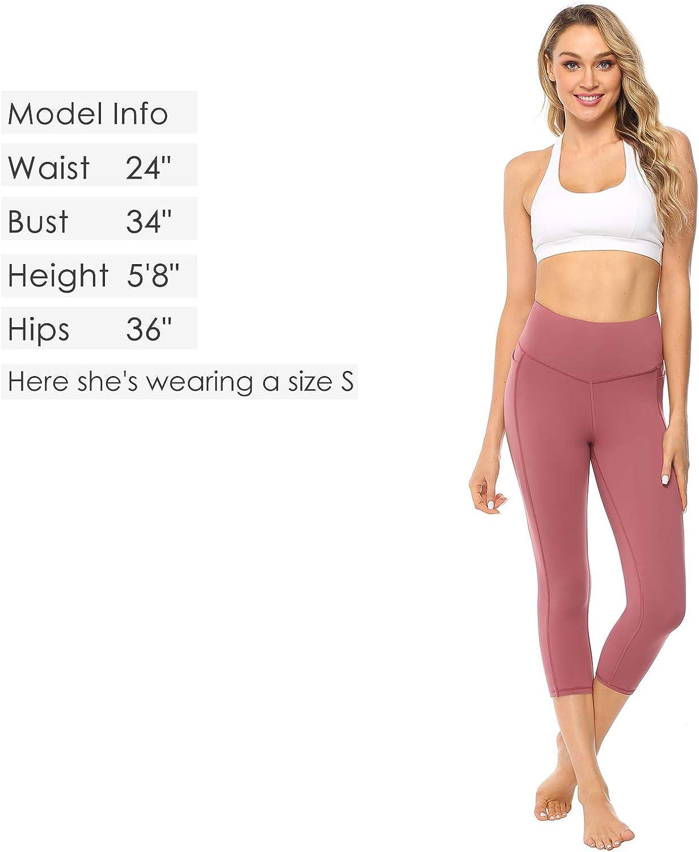 JOYSPELS Womens Athletic Shorts High Elasticity for Workout Yoga Biker Training Running Gym,High Waisted with Pocket