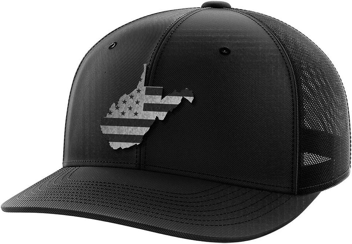 West Virginia United Black Patch Hat
