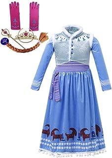 FashionModa4U Frozen Adventure Girls Costume Dress