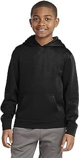 Sport-Tek Boys' Sport Wick Fleece Hooded Pullover