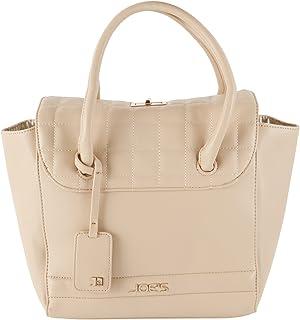 Joe's Jeans Superior Turn Lock Satchel Style Tote Handbag
