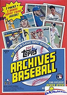2017 topps archives box