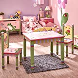 Fantasy Fields - Magic Garden Thematic Hand Crafted Kids Wooden Table...