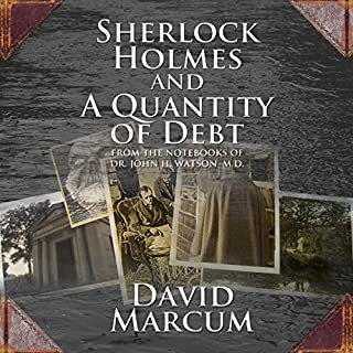 Sherlock Holmes and a Quantity of Debt cover art