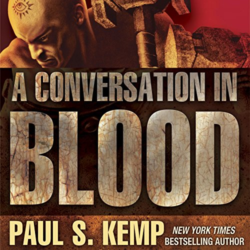 A Conversation in Blood audiobook cover art