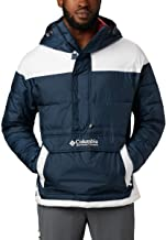 Columbia Men's Lodge Pullover Jacket, Synthetic Down