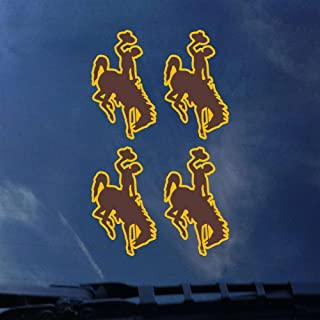 CDI Wyoming Cowboys Transfer Decals - Set of 4