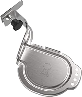 Weber 7240 Charcoal Kettle iGrill Mounting Bracket, Silver