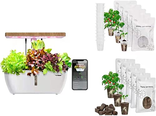 high quality VIVOSUN outlet sale Hydroponics Growing System with wholesale Wireless Control and Grow Sponge and Grow Basket outlet sale