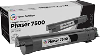 LD Remanufactured Toner Cartridge Replacement for Xerox Phaser 7500 106R1439 High Yield (Black)
