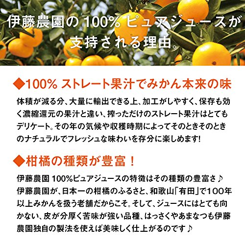 伊藤農園『100%ピュアジュース』