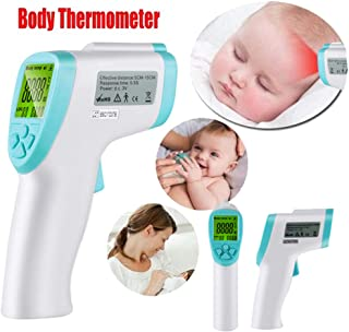 Infrared Forehead Thermometer Non-Contact Laser Accurate Digital Temperature Gun Portable Body Basal immediate Result Thermometer Gun with LED
