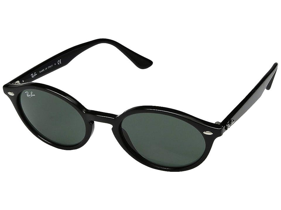 Ray-Ban RB4315 51 mm. (Black/Green) Fashion Sunglasses