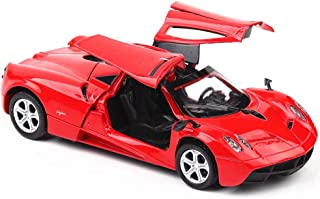 Car Model Metal for Adults Pagani Zonda 1:32 Auto World Miniature Scale Diecast Diecast Fast and Furious Red Green Bluered