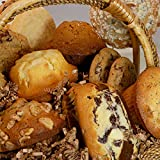 Poppie's Dough Fresh Baked Muffin and Cookie Basket (13 count) - Thank You Gifts, Quarantine Birthdays, Gifts for Men & Women, New Baby, Congrats, Sympathy Gift, Anniversary Gifts, Gifts for Seniors