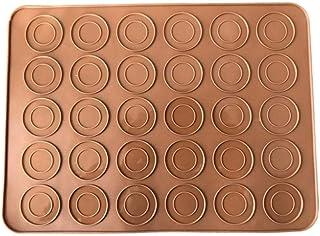 Tapis De Cuisson 30 Trous Tapis De Tapis En Silicone Antiadhésif Macaron Feuille De Tapis En Silicone Pour Four Biscuit Bi...