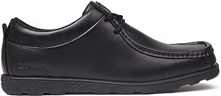 Kangol Kids Junior Waltham Lace Up Shoes Moc Toe