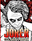 Joker Coloring Book: Exclusive Joker Coloring Books For Adults, Boys, Girls. 8.5' X 11'