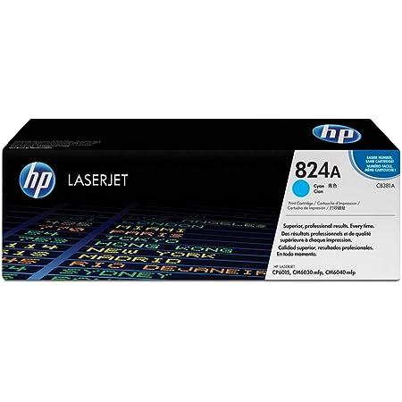 Hp 824a Cb381a Blau Original Toner Für Hp Color Laserjet Cp6015 Cm6030 Cm6040 Bürobedarf Schreibwaren