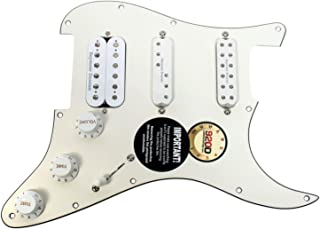 Seymour Duncan Fat Everything Loaded Strat Pickguard White / White