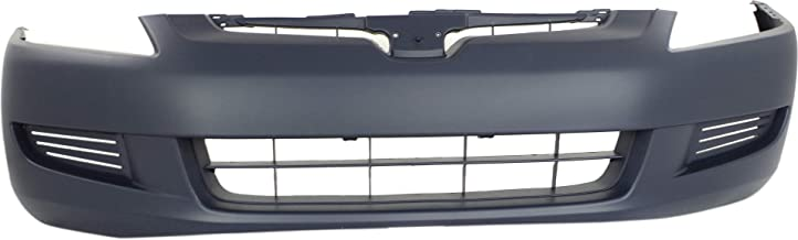 Front Bumper Cover for HONDA ACCORD 2003-2005 Primed 4 Cyl/6 Cyl Coupe