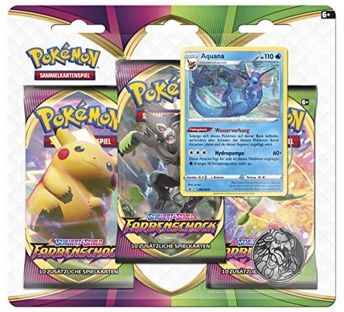 Pokémon International 45225 PKM SWSH04 3-Pack Blister