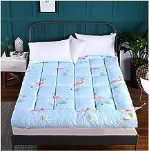 Japanese futons Mattress, Student Dormitory Folding Mattress, Thick Soft Multifunctional Mattress,Blue,A,90 * 200/35 * 79i...