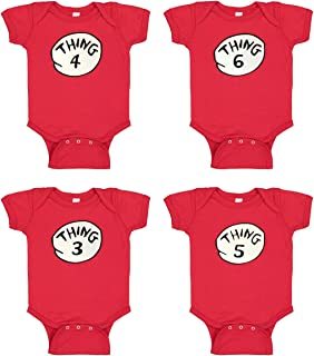 Things Funny Bodysuit - Baby Romper - Things Red Baby Suite
