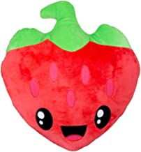 Scentco Smillows - Scented Stuffed Plush Accent Throw Pillow - Strawberry