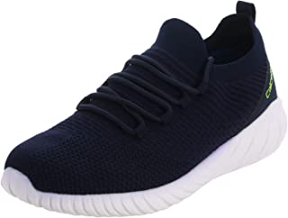 calcetto Latest Collection for Mens Navy Blue Synthetic Sports Shoes