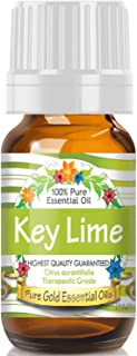 Pure Gold Key Lime Essential Oil, 100% Natural & Undiluted, 10ml