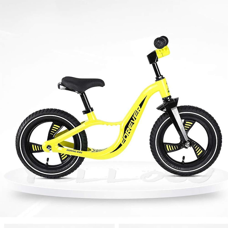 ZNDDB Kinder Laufrad - Lauflernrad Kinderrad Für Jungen Und Mdchen Ab 2-6 Jahre 12 Zoll Kinderlaufrad