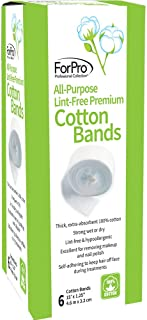 For Pro All purpose lint free premium 100% cotton bands 6ct, 0.1kg