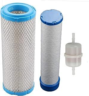 Trustsheer Outer Inner Air Filter for Kohler 25 083 01-S 25 083 04 Briggs Stratton 841497 821136 John Deere M131802 M144100 M131803 Kawasaki 11013-7019 11013-7020 Bobcat 821136 841497