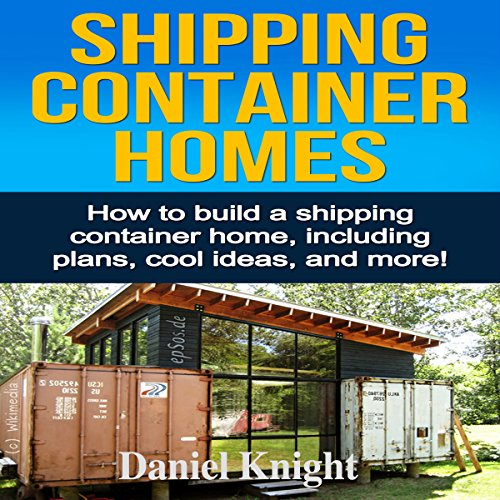 Couverture de Shipping Container Homes