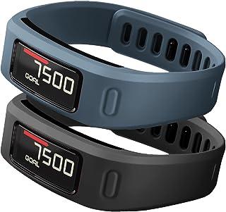 SKYLET Compatible with Garmin Vivofit Bands, Soft Silicone Colorful Fitness Bands Compatible with Garmin Vivofit 1(No Trac...