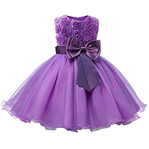 065ef41adc Niyage Girls Party Dress Princess Flowers Wedding Dresses Toddler Baby  Pageant Tulle Tutus