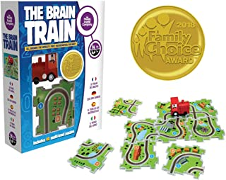 The Brain Train - World's First Mathematical Railway. Award Winner Math Game. Use Math, Logic, Cognitive Skill for Simple Equations & Connect Train Tracks. Correct Answers let The Train Run The Track!