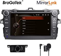 Brogotek Android 7.1 Car Stereo Head Unit for Mazda 3 2004-2009 Car Radio GPS Navi Navigation 9 Inch IPS Panel Touch Screen Bluetooth Radio SWC 4G WiFi CAM-in