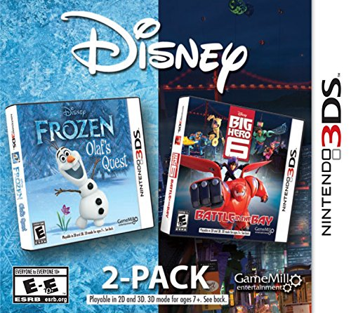 Disney Frozen & Big Hero 6 2 Pack – Nintendo 3DS