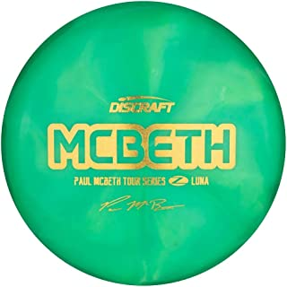 Discraft Limited Edition 2020 Tour Series Paul McBeth Swirl Elite Z Luna Putter Golf Disc [Colors May Vary]
