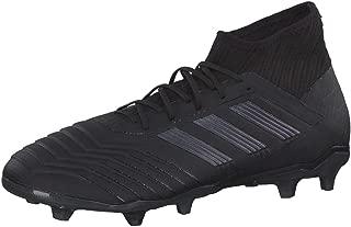 adidas Men Football Shoes Boots Predator 19.2 FG Soccer Cleats Black New